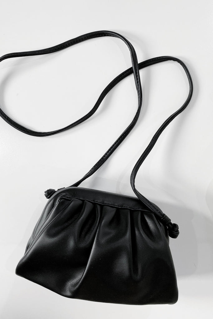 Mirage Petite Crossbody Bag - Black