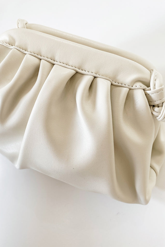 Mirage Petite Crossbody Bag - Cream