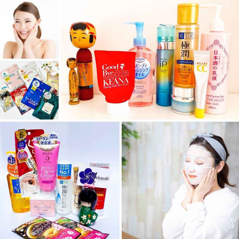 Japanse Skincare Routine. Japanese Skincare Must haves. Murasaki Cosmetics. Japanese Skincare and Cosmetic Shop Netherlands