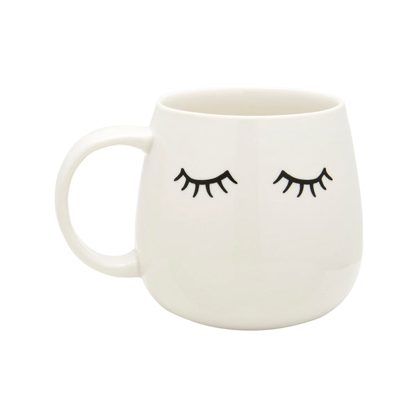 Eyes Shut Lashes Mug