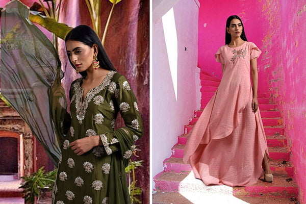 Zardozi, Meenakari & More: Shine At Every Event This Wedding Season With These Stunning Ethnic Pieces