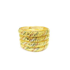 4-Piece Indian Style Bangle Set