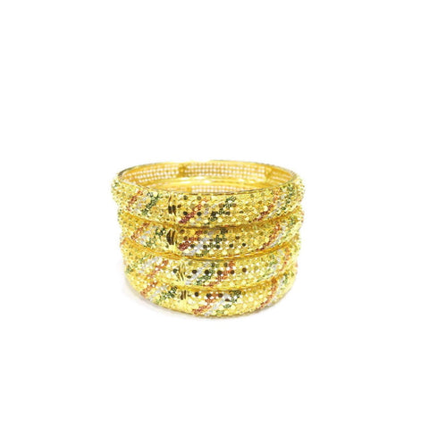4-Piece Indian Style Bangle Set - Jawaherat