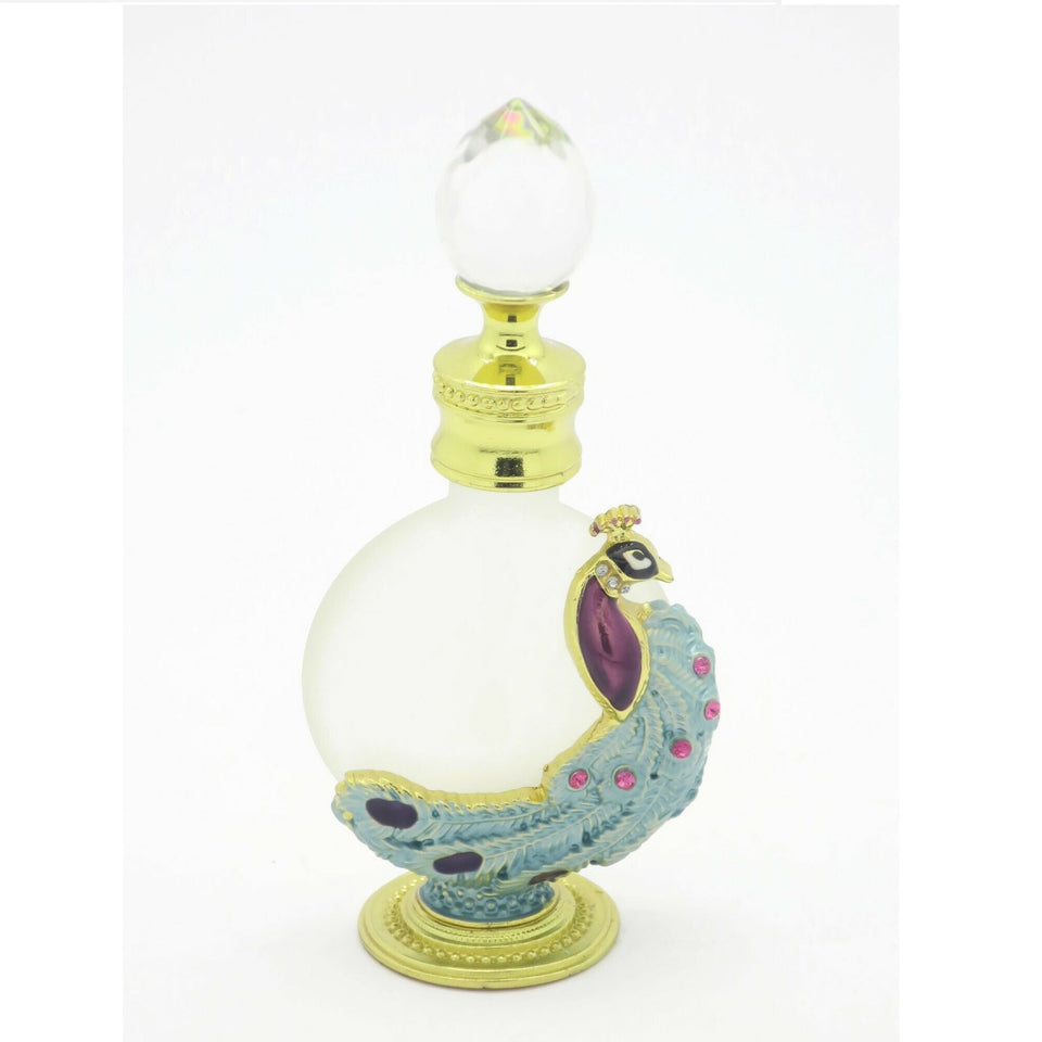 Fancy Peacock Style Attar Bottle 12 ml - Jawaherat