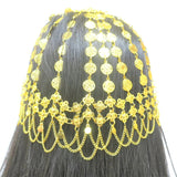 18Kt Gold Plated Arabic Style Head Piece Hama