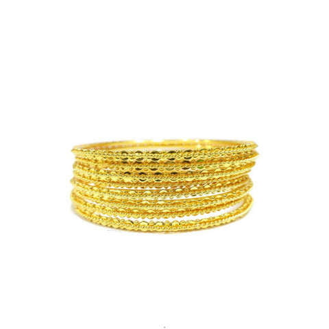 8-Piece Indian Style Bangle Set - Jawaherat