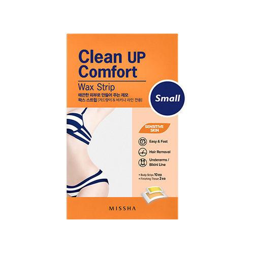 CLEAN UP COMFORT WAX STRIP (SMALL)