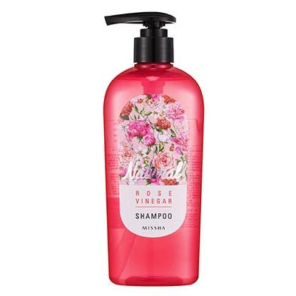 MISSHA NATURAL ROSE VINEGAR SHAMPOO 310 ML