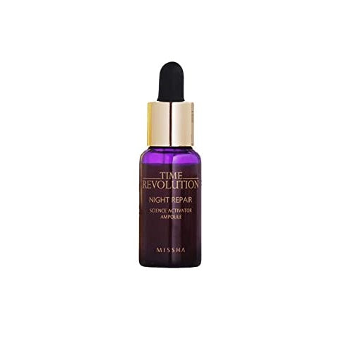 DELUX SIZE TIME REVOLUTION NIGHT REPAIR AMPOULE [GOLD] 10ML