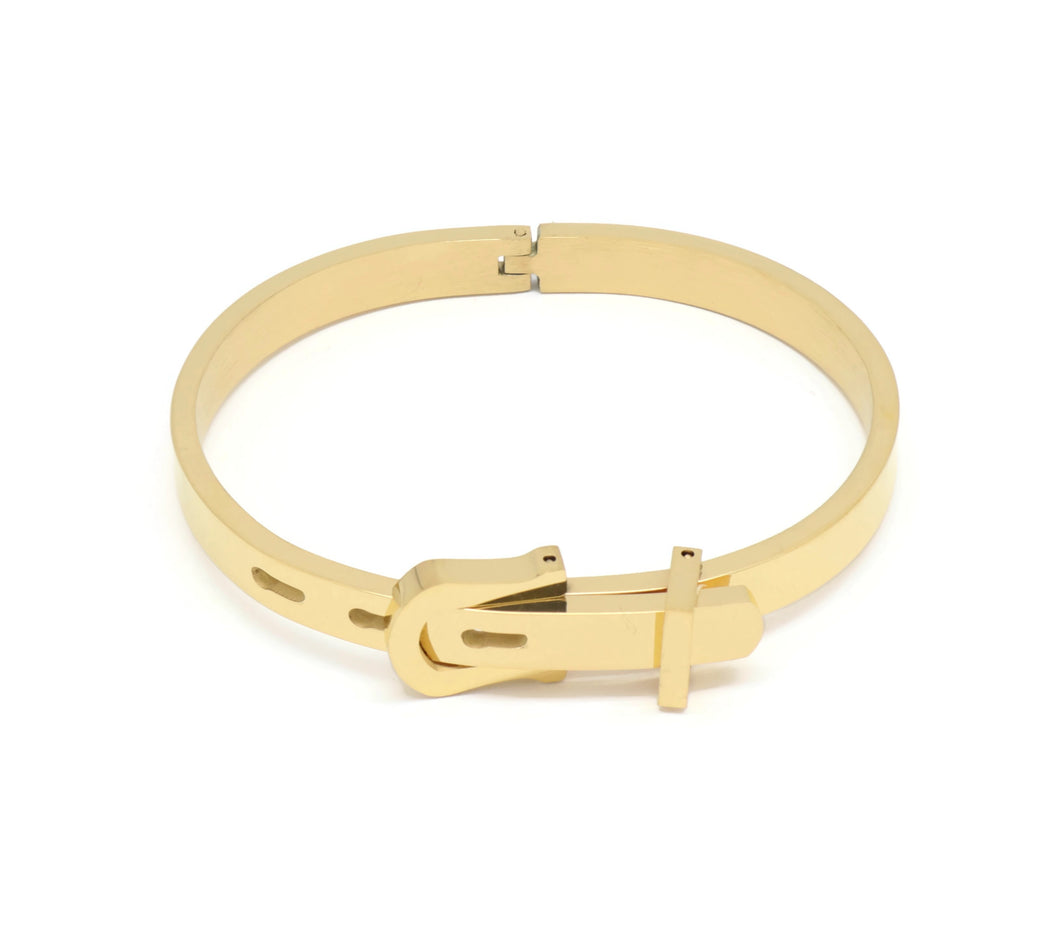 18kt Stainless Steel Belt Buckle Fashion Bracelet
