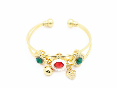 18kt gold plated kid's fashion bracelet