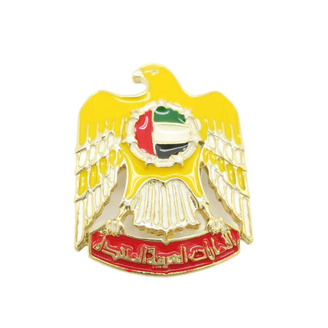 United Arab Emirates National Day Magnetic Brooch eagle shape