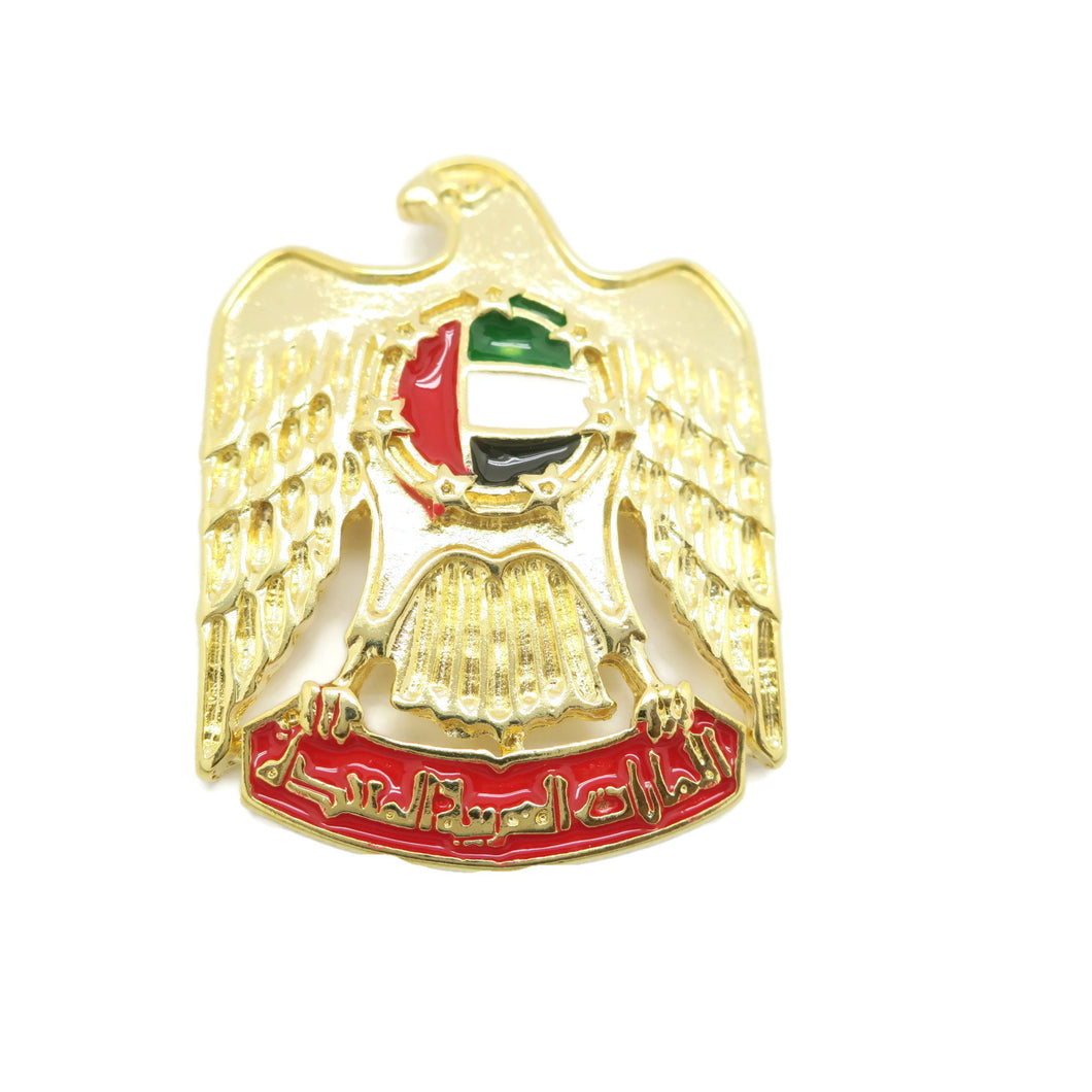 United Arab Emirates National Day Magnetic Brooch eagle shape - Jawaherat