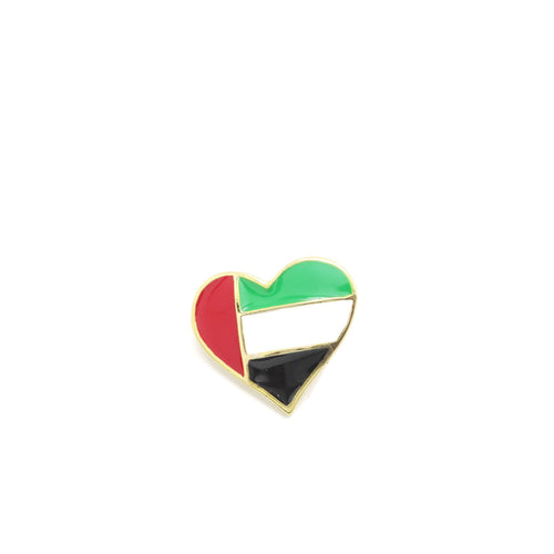 United Arab Emirates National flag Brooch - Jawaherat