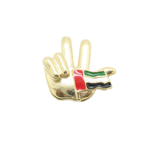 United Arab Emirates  National Day Magnetic Brooch - Jawaherat