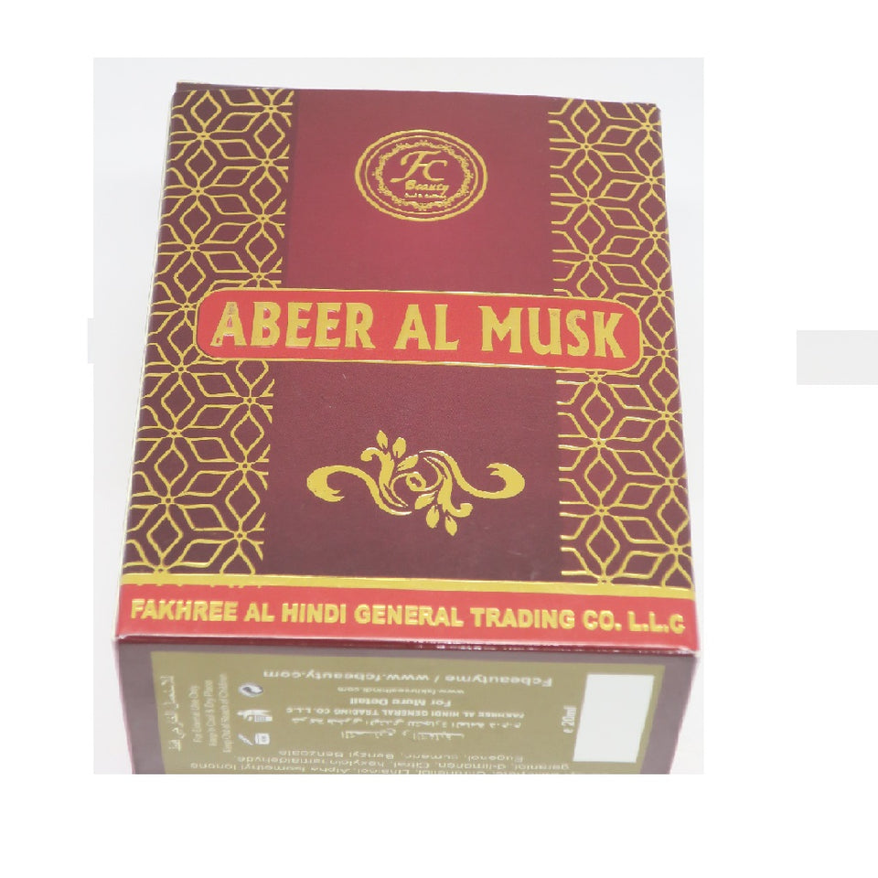 Abeer Al Musk Concentrated Perfume Oil (20 Ml) - Jawaherat