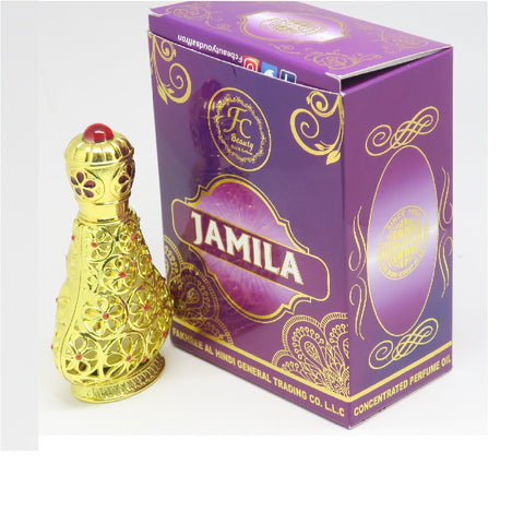 Jamila Concentrated Perfume Oil (20 Ml) - Jawaherat