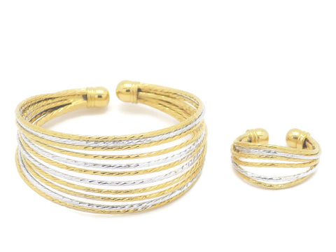 Impress Collection Bracelet with Ring for Women - Jawaherat
