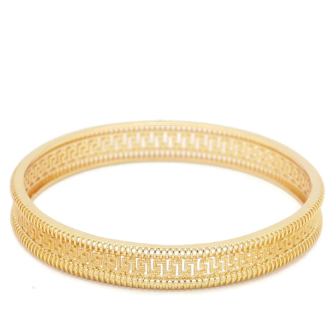 18 KT Rose Gold Plated Women's Fashion Bangle