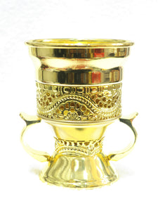 Gold Incense Burner - Jawaherat