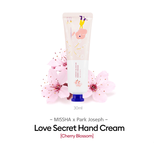 MISSHA LOVE SECRET HAND CREAM [JOSEPH PARK EDITION]