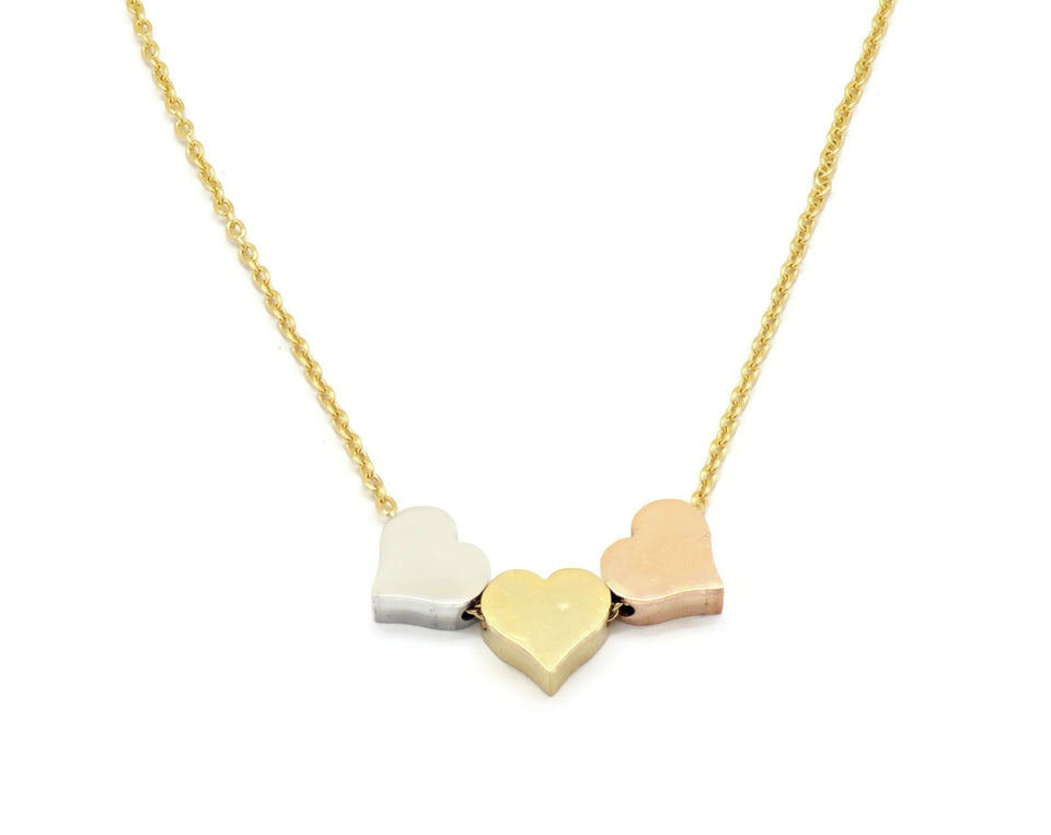 Women's Stainless Steel  Necklace set - Valentine series