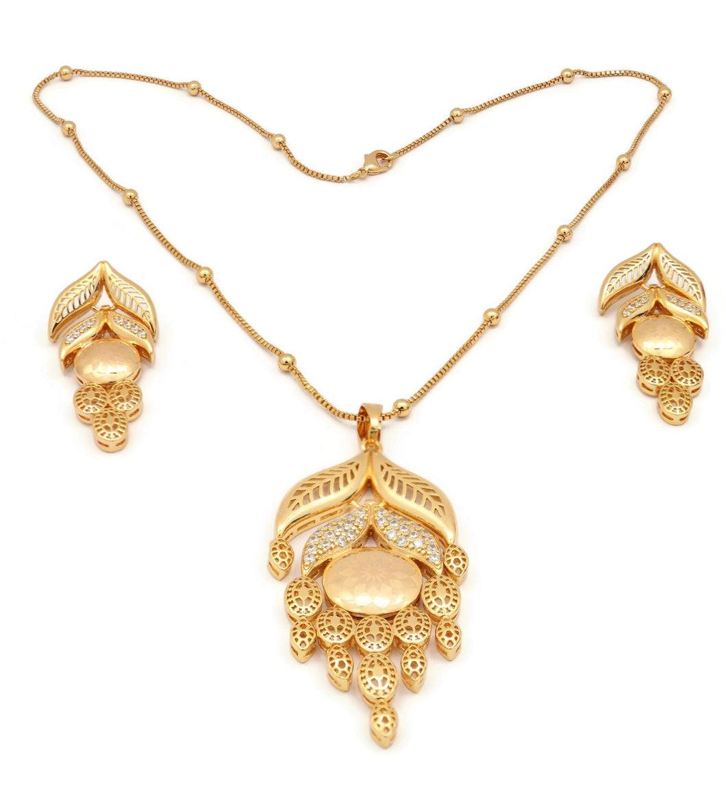 18kt Luxury Jewelry Set For Women