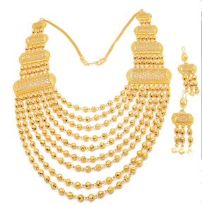 18k Indian Bridal Jewelry Sets Women