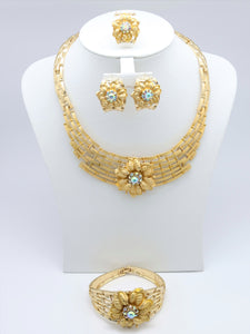 18k Classic Bridal Jewelry Sets Women