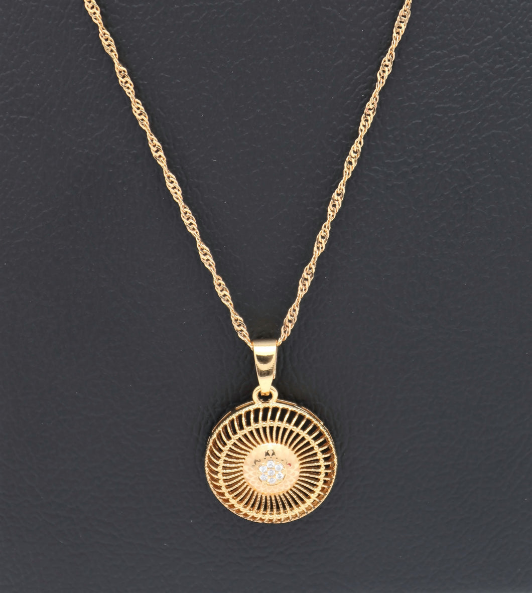 18kt Pendant Necklace - Exclusives Collection series