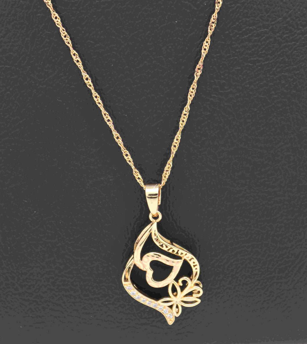 18kt Pendant Necklace - Valentine Collection series