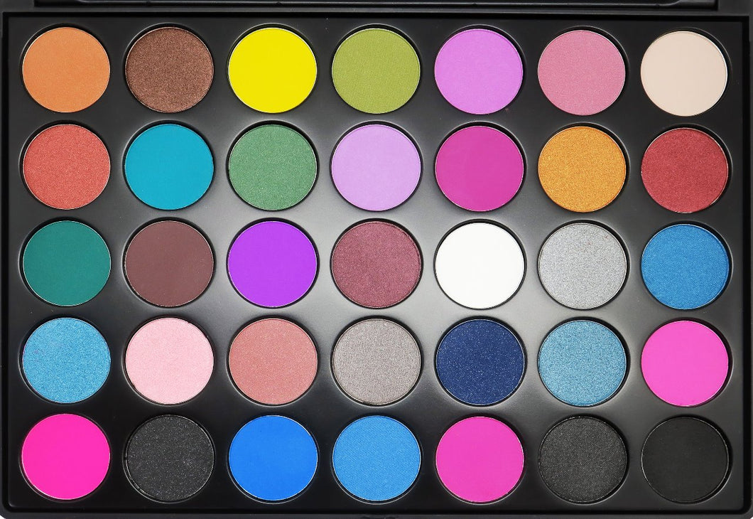 FC Beauty Eye Shadow Palette 35 D - Jawaherat