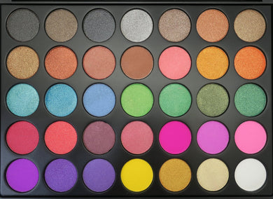 FC Beauty Eye Shadow Palette 35 A - Jawaherat