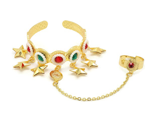18kt Cuff Bangle Bracelet for kids