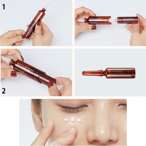 MISSHA BEE POLLEN RENEW EYE AMPOULER - 1PACK (5ML X 3PCS)