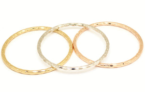 Bangle bracelet set, Classic design embossings, Available in different color platings, For women and girls,