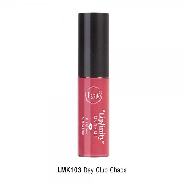 "JCAT BEAUTY ""LIPFINITY"" MATTE LIP KISSPROOF - Jawaherat"