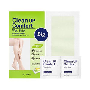 CLEAN UP COMFORT WAX STRIP (BIG)