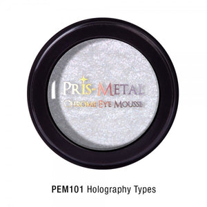 JCAT PRIS-METAL CHROME EYE MOUSSE - Jawaherat