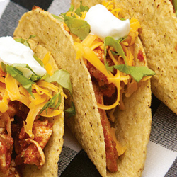 Cider Chicken Tacos
