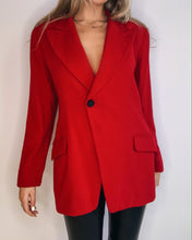 Load image into Gallery viewer, Red Oversize Jacket
