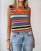 Load image into Gallery viewer, KENZO LOVE Neon Sleeveless Top