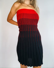 Load image into Gallery viewer, Chacok Black & Red Skirt /Tube Dress