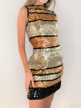 Load image into Gallery viewer, Sparkly Multi Color Sequin Dress