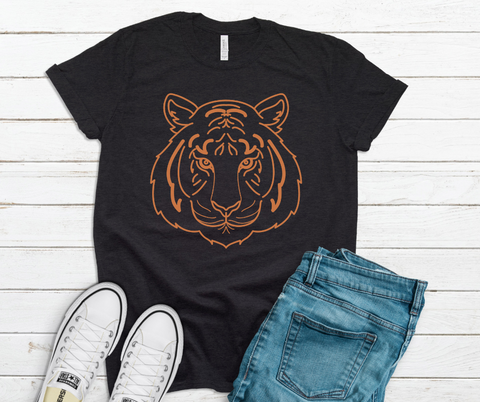 Retro Tiger Tee Shirt