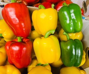 Mixed peppers - pack of 3
