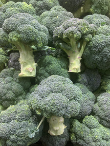 Broccoli per head