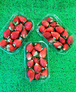 Strawberries  - large punnet 400g