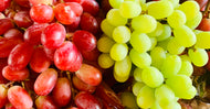 Grape mixed red and green seedless 1kg