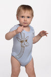 elliott the giraffe onesie in baby blue